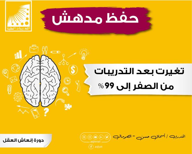 انعاش العقل الدكتور علي الربيعي، تقوية الذاكرة، زيادة التركيز