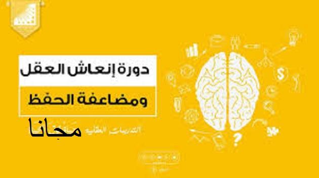 دورة إنعاش العقل مجانا ، دورات انعاش العقل ، الدكتور علي الربيعي ، التدريبات العقلية